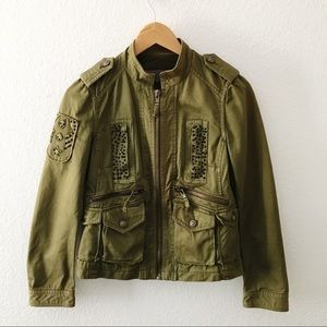 Zara Military Style Casual Jacket